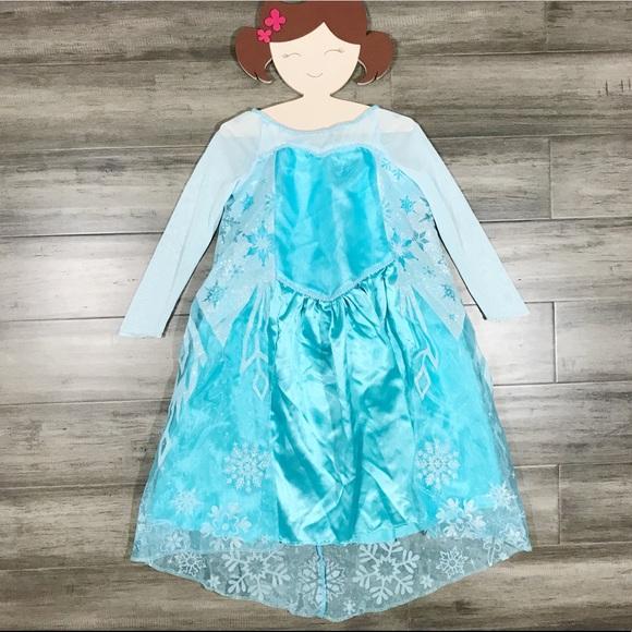 Disney Costumes | Frozen Elsa Costume Dress | Poshmark